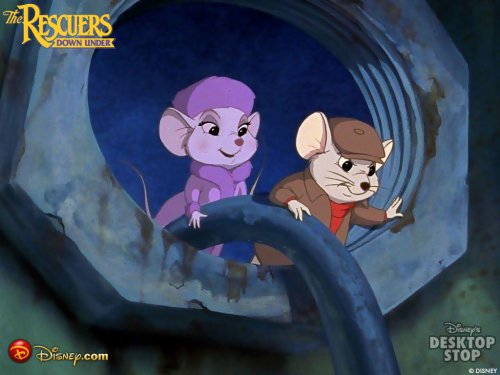 The rescuers subliminal message
