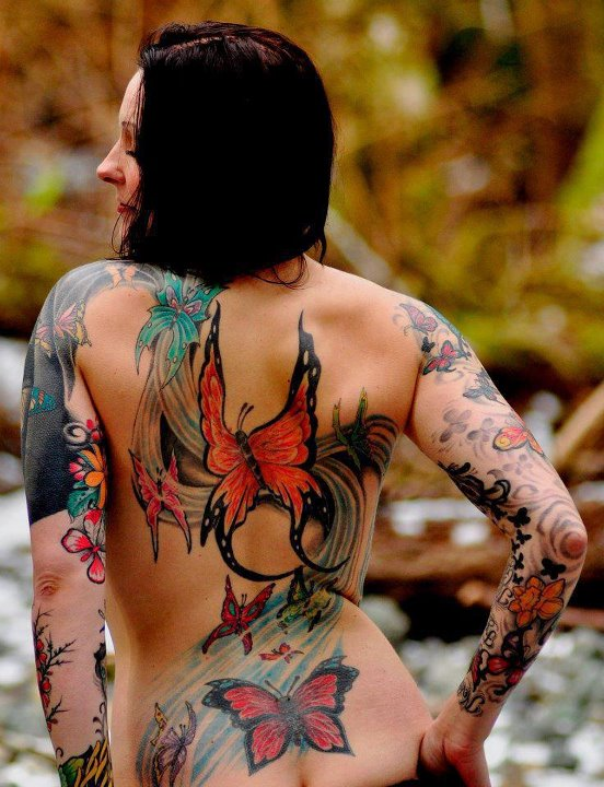 Tattoo Ideas On Back: 20+ Sexy Back Tattoos For Girls