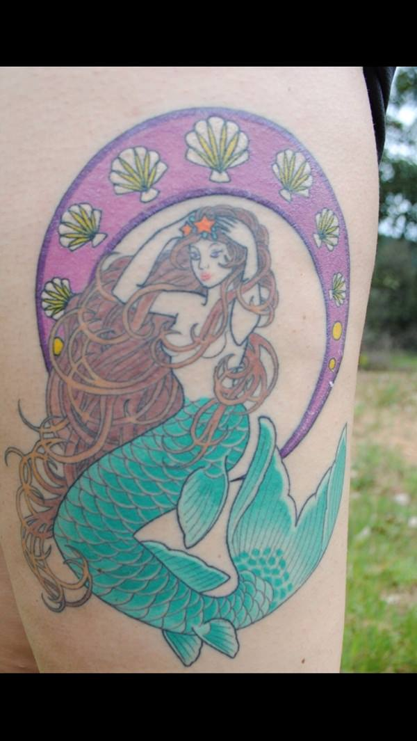 65 Really Unexpected Mermaid Tattoo Designs