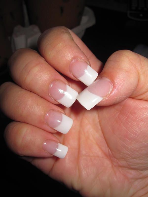 42 Stunning French Nails You Can Go Crazy Over......