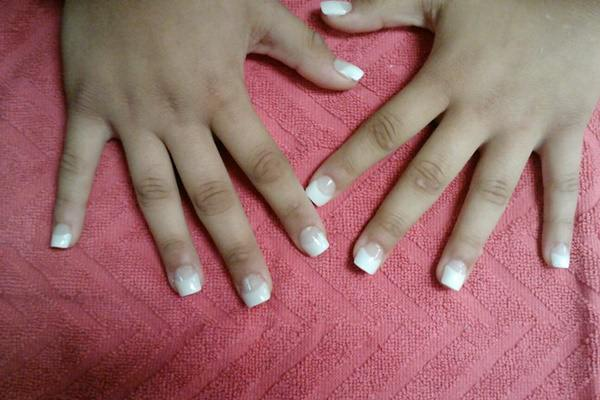 Its One Of The Ombre Nails Art Design Way Glitter Is Spread All Over Tips It Really Looks Pretty First Amazing And Then