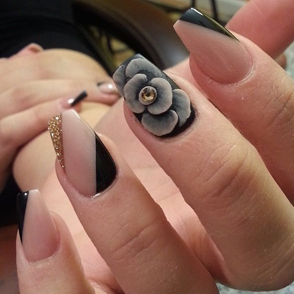 32 Amazing Fall Designed Nail Art That Will Make You Stunned. - 32 Amazing Fall Designed Nail Art That Will Make You Stunned..