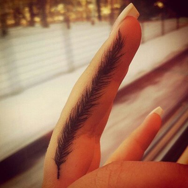 42-Feather-finger-tattoo