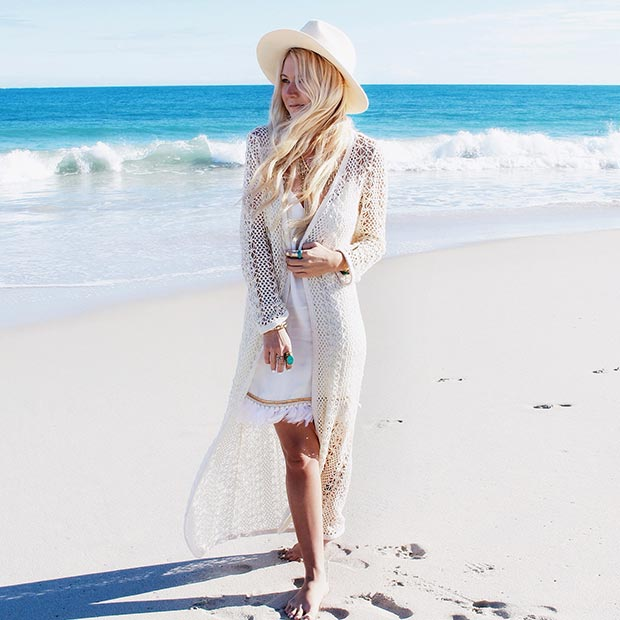 27 Astonishing White Outfit That Will Make You Look ...