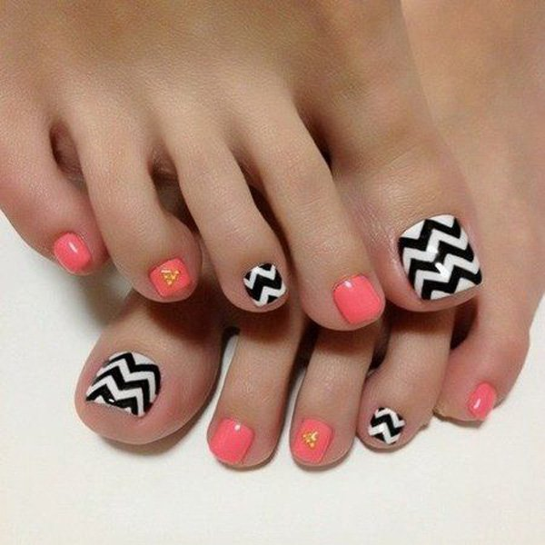27 Gorgeous Toe Nail Art Designs that You Should got to Have.