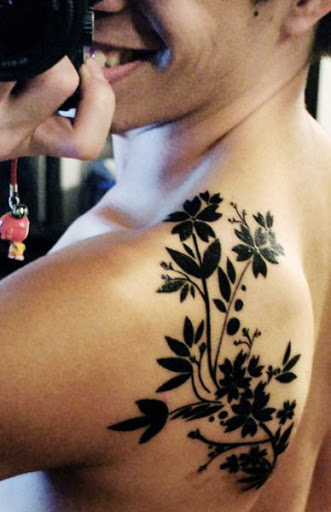 Flower Shoulder Tattoo Designs: 30 Ravishing Shoulder Tattoos That Will Add Spark To Your