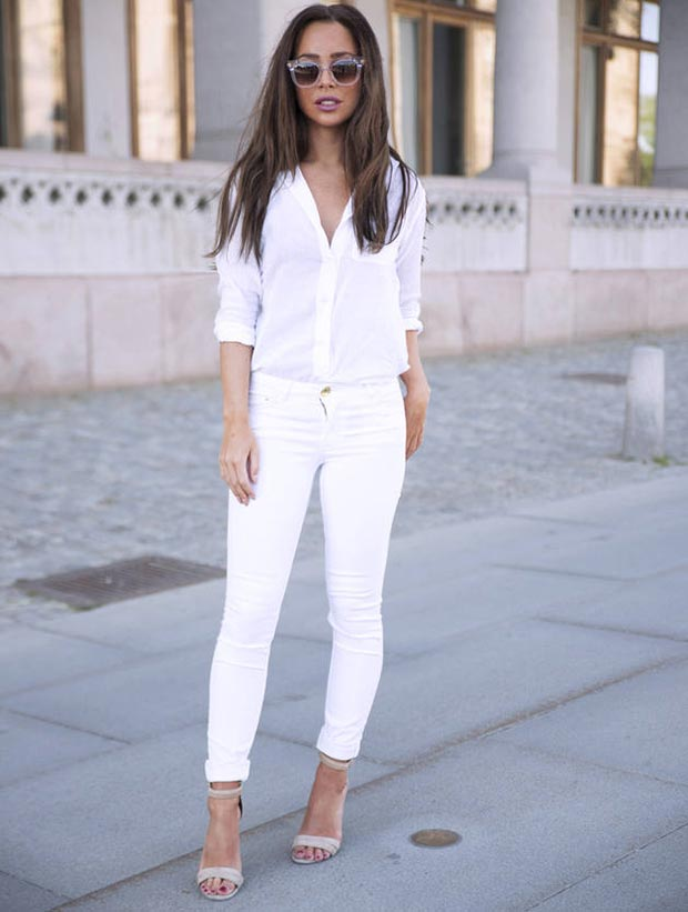 Creative Jenny From Margo &amp Me Styled Her White Wideleg Pants With A Tight Crop Top And Sequin Jacket Going To A Formal Event, But Sick Of Your Typical Party Wear? Ditch
