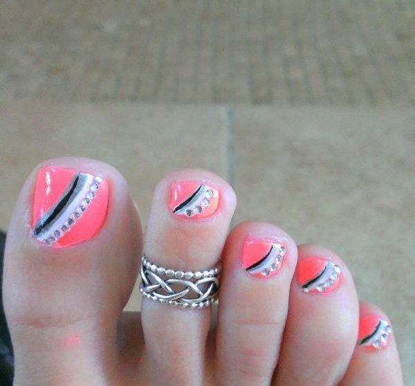 Toe Nail Designs: 27 Gorgeous Toe Nail Art Designs That You Should Got To Have