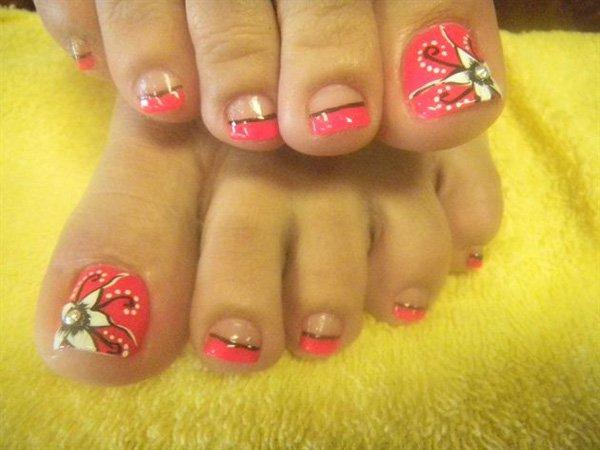 toes art designs