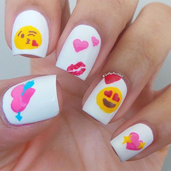 30 Incredible Valentines Day Special Nail Art That will Enhance Your ...