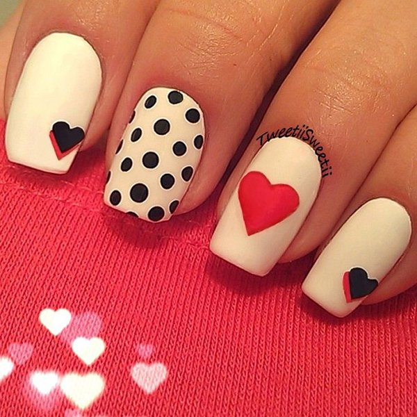 30 incredible valentines day special nail art that will enhance your sophisticated nail art valentines day nail art 46 solutioingenieria Choice Image