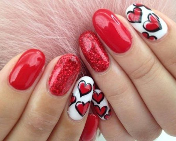 create your own style valentines day nail art 9 - Nail Art Valentines Day