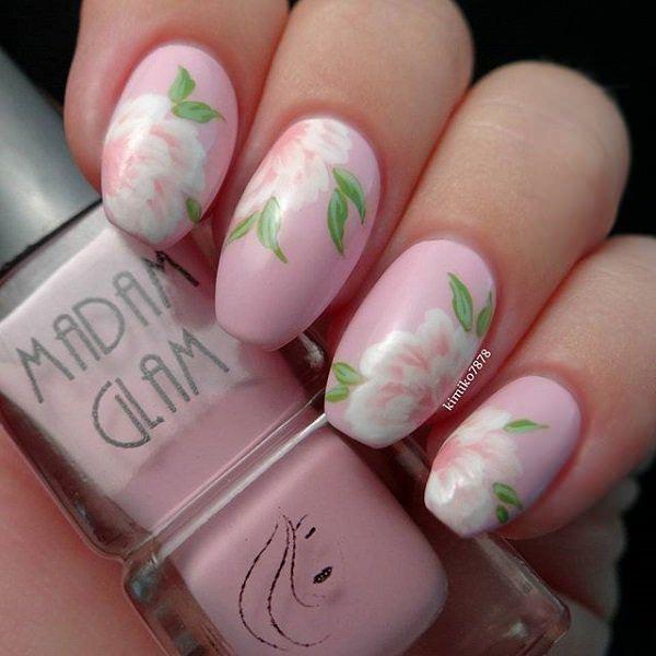 19110416 Pink Nail Designs