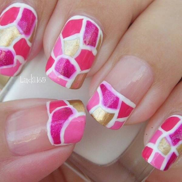 Pink Nail Art: Fascinating Pink Nail Art Design Which Will Dazzle You For