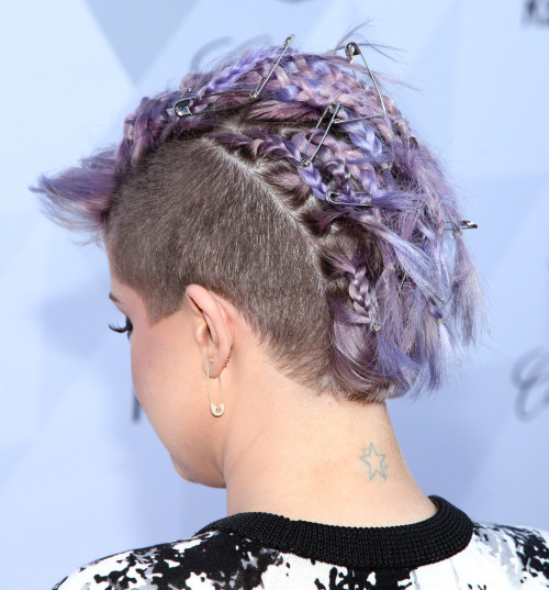 LOS ANGELES, CA - JUNE 19: TV personality Kelly Osbourne (hair detail) arriving at Kelly Osbourne Hosts Cadillac and Refinery29 Launch Party at Hyde On Sunset on June 19, 2014 in Los Angeles, California. (Photo by Paul Redmond/WireImage)