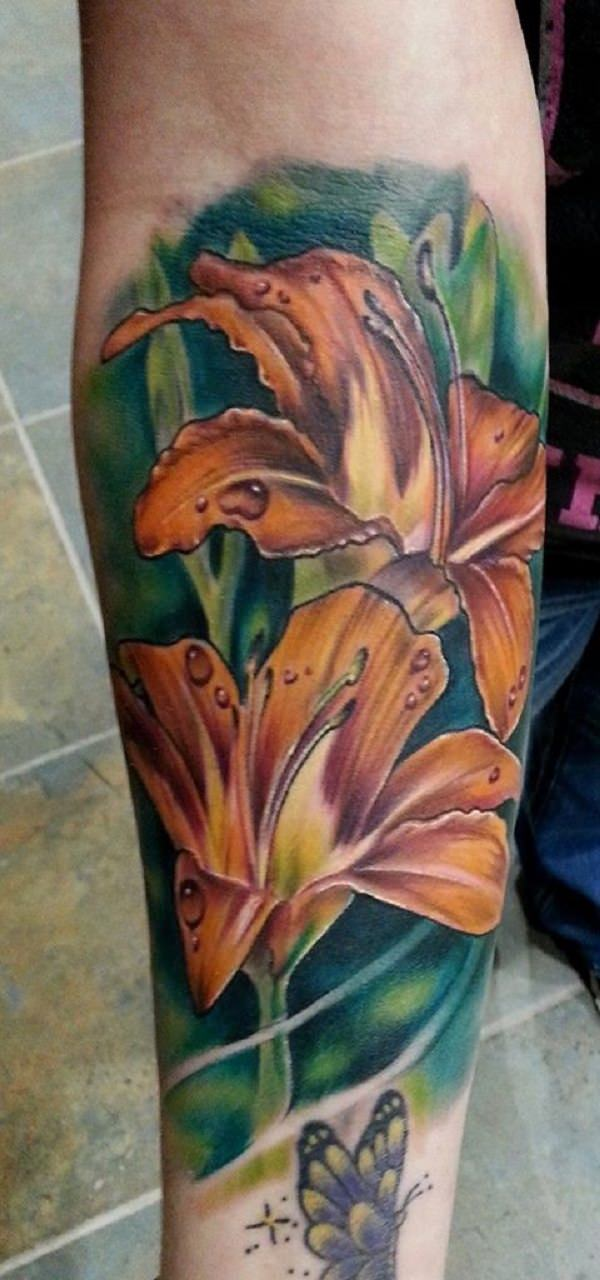 Awesome Lily Tattoo That You Can T Even Refuse To Have