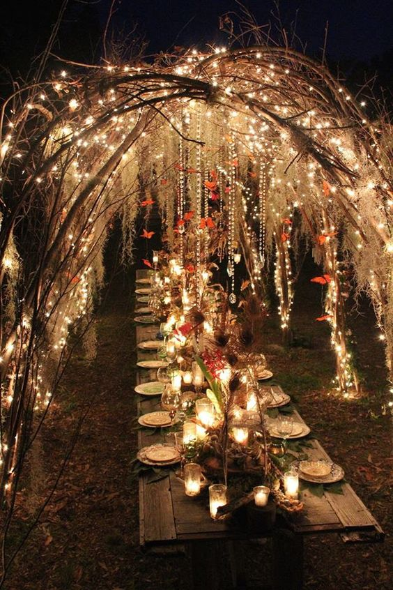 25 Ideas For A Fairy Tale Wedding With Pictures