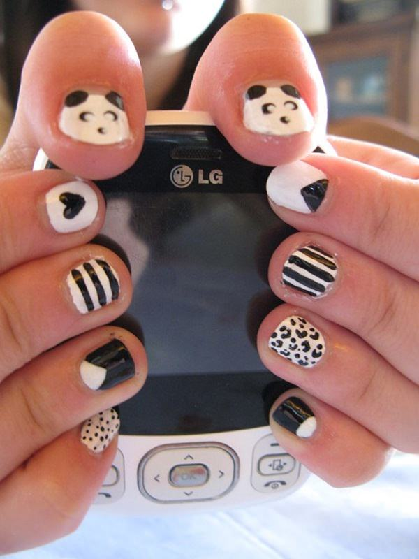 black-and-white-nail-designs-33