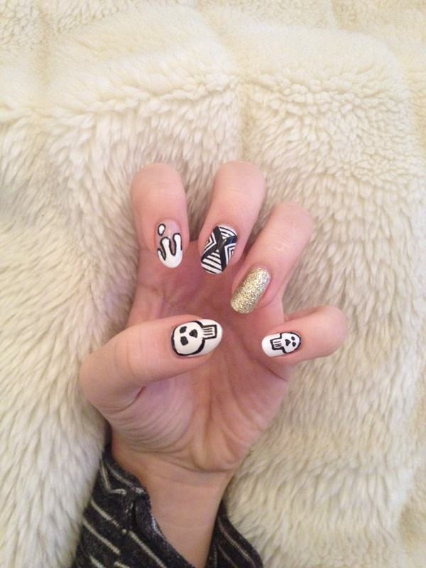 black-and-white-nail-designs-467