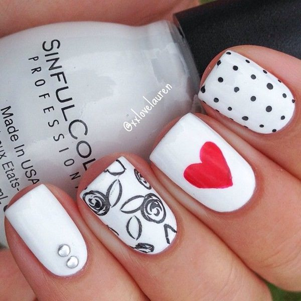 black-and-white-nail-designs-5