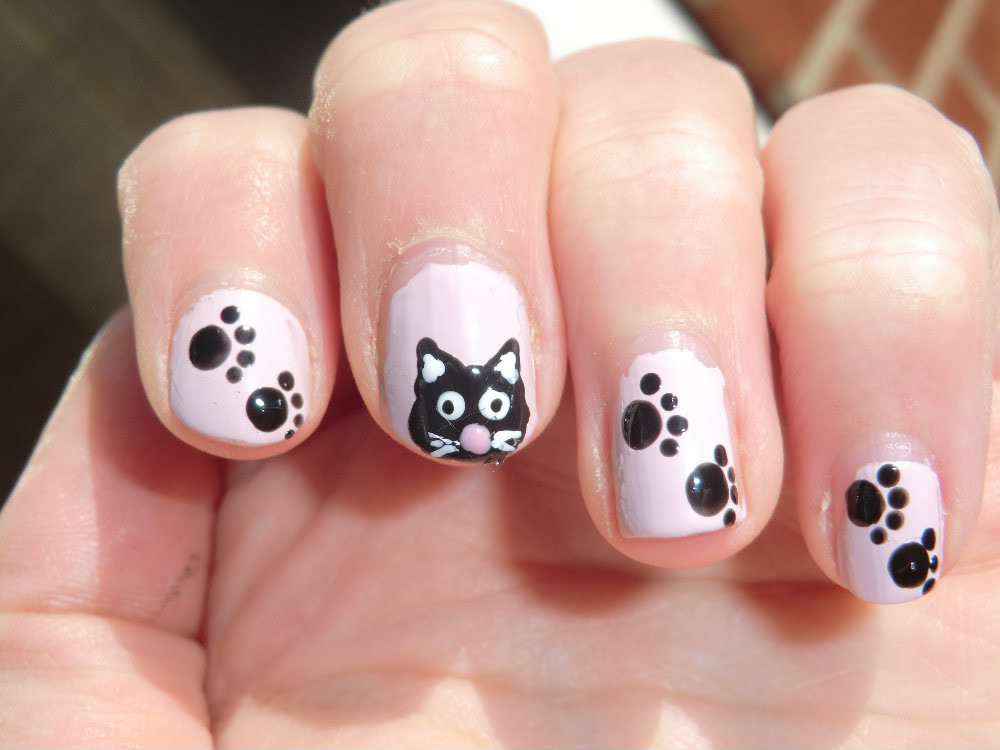 White nail art pen designs image collections nail art and nail black nail art pen designs images nail art and nail design ideas fabulous white and black prinsesfo Images