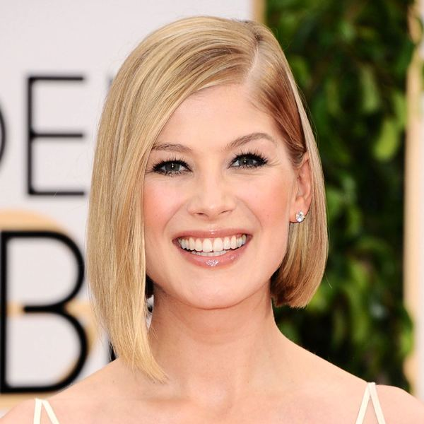 Mandatory Credit: Photo by Startraks Photo/REX (4375559bo) Rosamund Pike 72nd Annual Golden Globe Awards, Arrivals, Los Angeles, America - 11 Jan 2015 The 72nd Golden Globe Awards - Arrivals