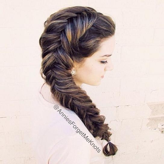 Stunning Braided Hairstyle That Can Style You Elegantly