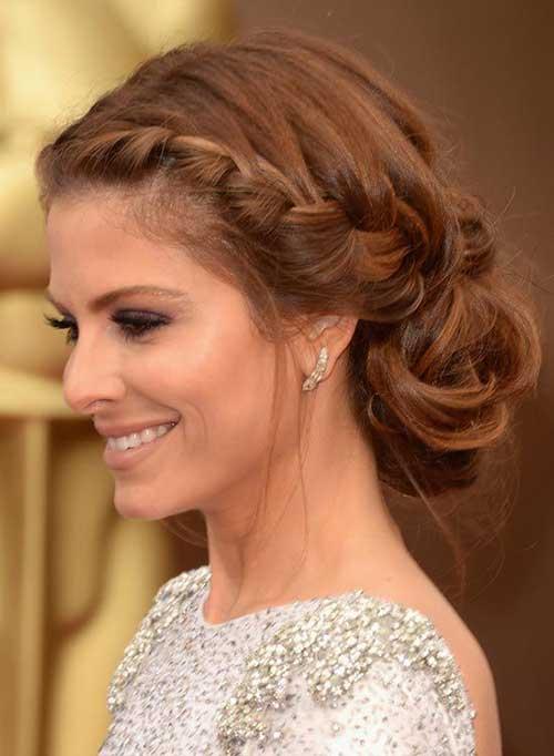 Maria menounos hair braid