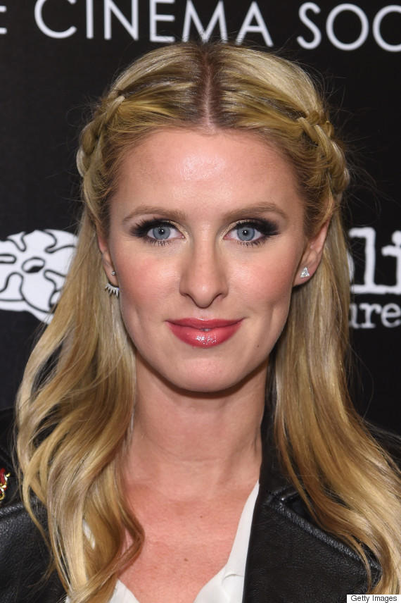 """NEW YORK, NY - MARCH 21: Nicky Hilton attends a screening of """"Serena"""" hosted by Magnolia Pictures and The Cinema Society with Dior Beauty on March 21, 2015 in New York City. (Photo by Jamie McCarthy/Getty Images)"""