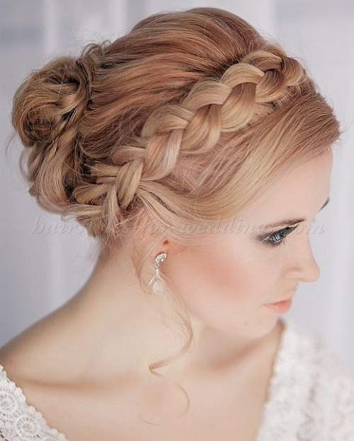 Crown Braid Wedding Hairstyles: Stunning Braided Hairstyle That Can Style You Elegantly
