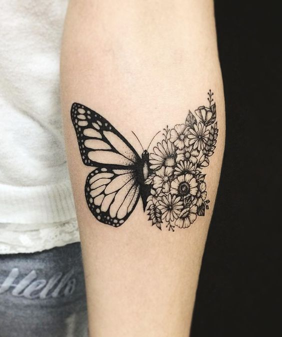 Animal tattoos to express your individuality for Tattoos meaning freedom