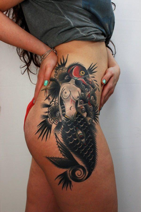 mermaid tattoo 1