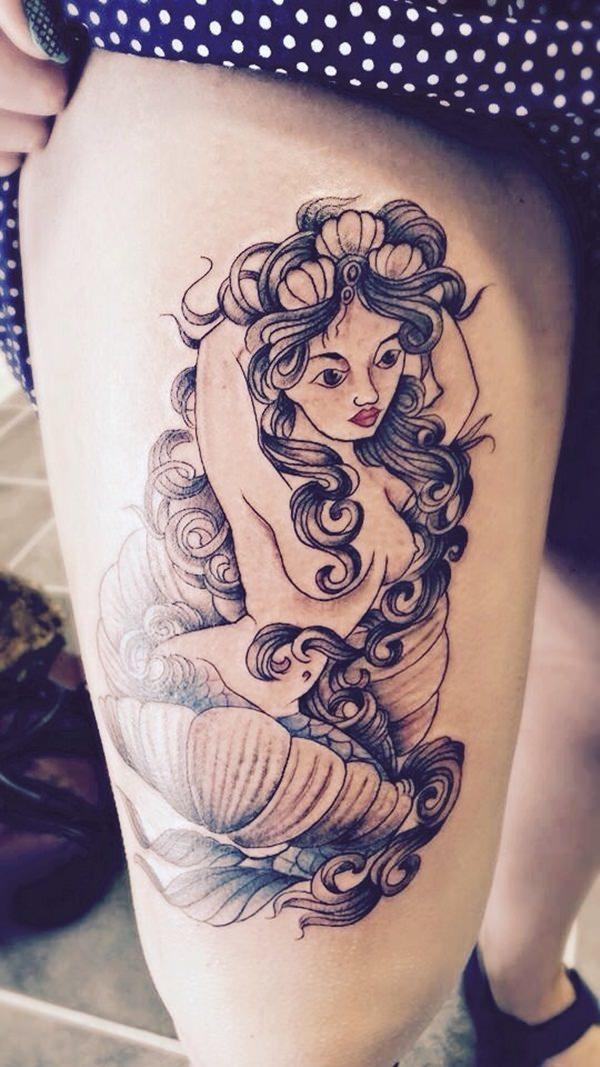 mermaid tattoo 3