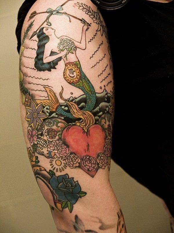 mermaid tattoos 12