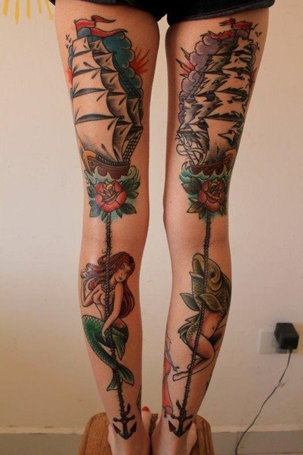 mermaid tattoos 16