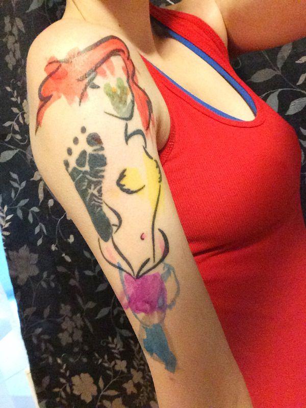 mermaid tattoos 24