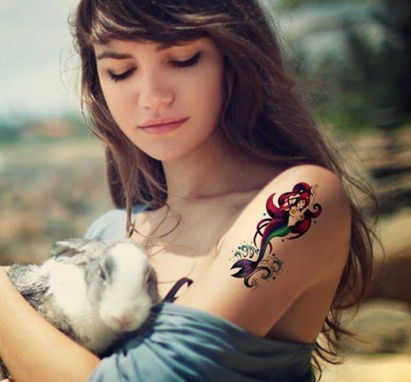 mermaid tattoos 32