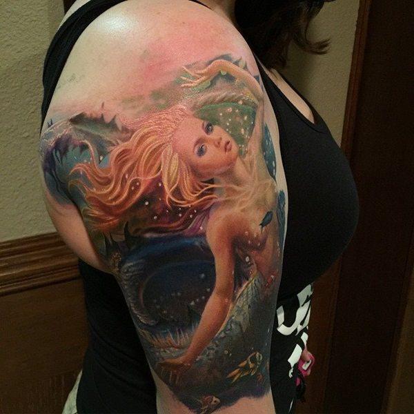 mermaid tattoos 41
