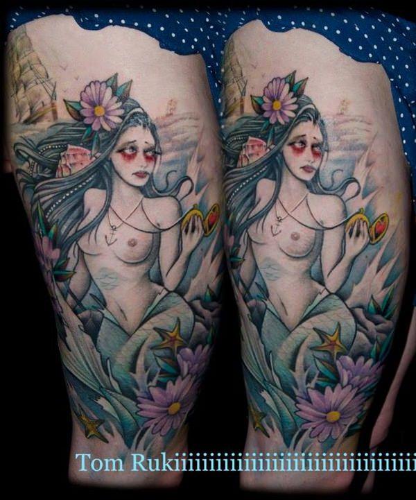 mermaid tattoos 53