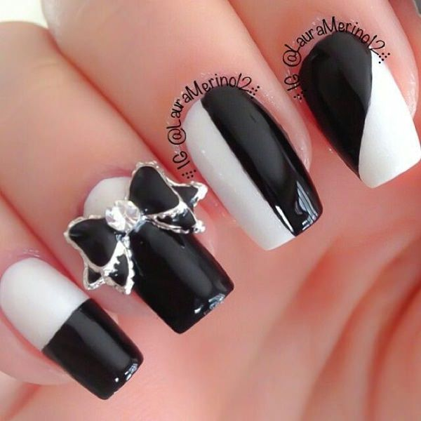 black-and-white-nail-designs-12