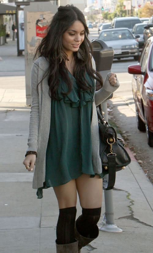 December 6, 2008: Vanessa Hudgens spotted out shopping for furniture for her home at Design Within Reach in West Hollywood, California today. Credit: Star Pix/INFphoto.com Ref.: infusla-34